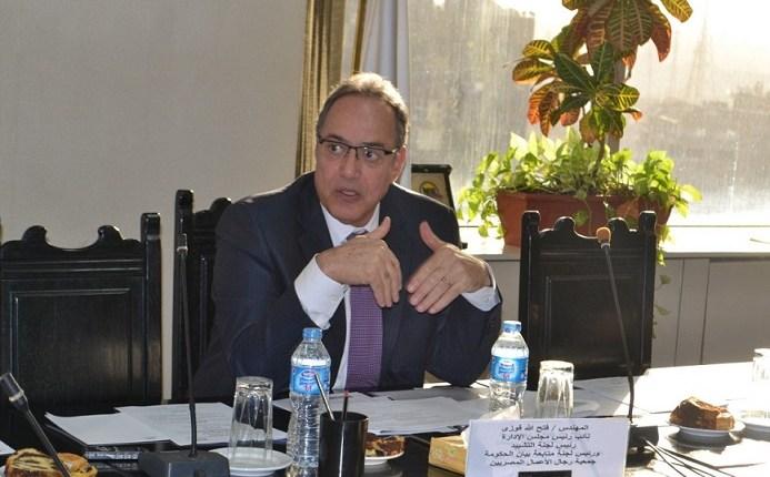 فتح الله فوزي رئيس مجلس إدارة الجمعية المصرية اللبنانية لرجال الأعمال