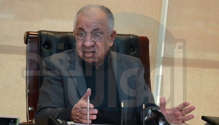 المهندس حسن عبد العزيز، رئيس مجلس إدارة الاتحاد المصري لمقاولى التشييد والبناء - اتحاد المقاولين - اتحاد المقاولين