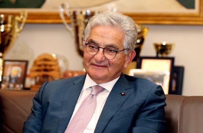 سليم صفير رئيس مجلس إدارة جمعية المصارف في لبنان