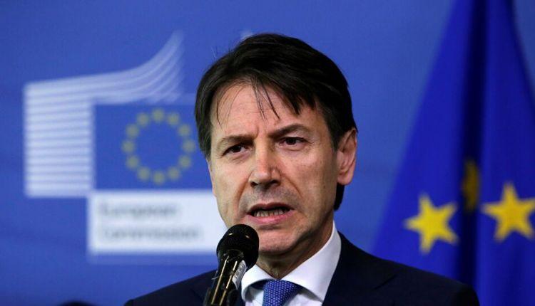 جوزيبي كونتي رئيس وزراء ايطاليا