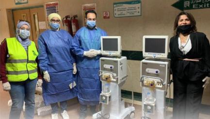 مصر الخير تدعم المستشفيات