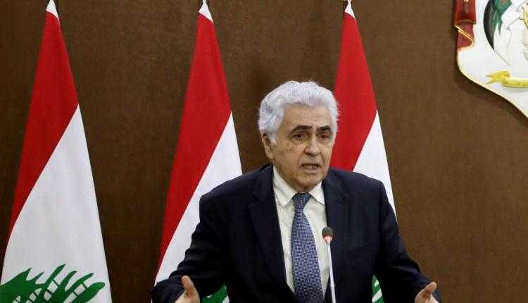 وزير الخارجية اللبناني المستقيل ناصيف حتى