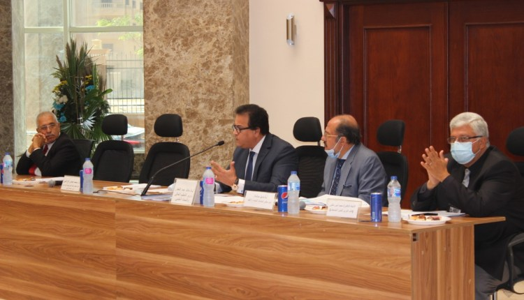 اجتماع مجلس الجامعات الخاصة والأهلية
