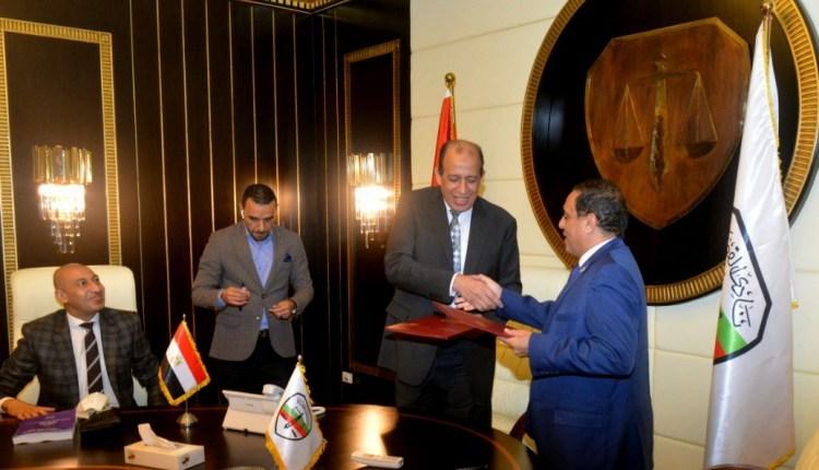 المطابع الأميرية توقع بروتوكول تعاون مع نادي قضاة مصر