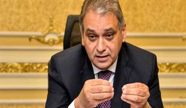 المستشار علاء الدين فؤاد وزير شئون المجالس النيابية
