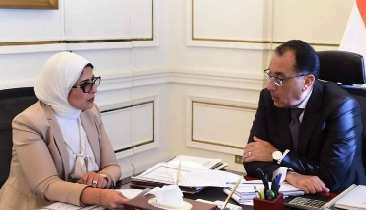 اجتماع رئيس الوزراء مع وزيرة الصحة