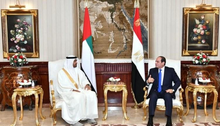الرئيس السيسي يلتقي سمو الشيخ محمد بن زايد آل نهيان
