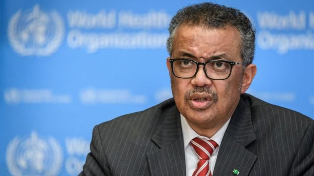 أدهانوم غيبريسوسمدير منظمة الصحة العالمية