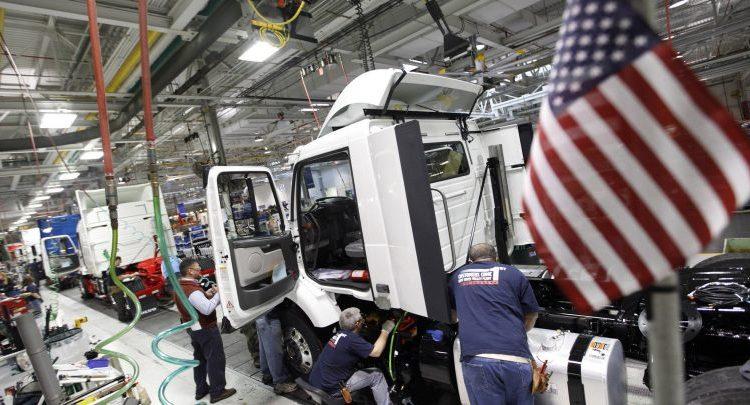 النشاط الصناعي بالولايات المتحدة
