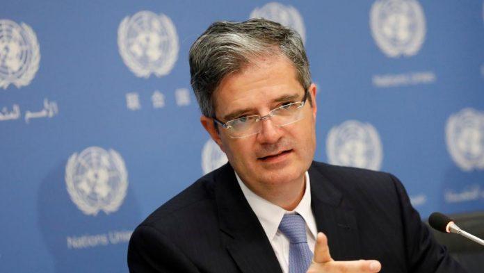 السفير نيكولا دو ريفيار المندوب الدائم الفرنسى لدى الأمم المتحدة