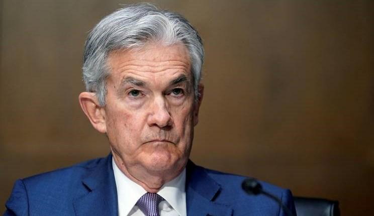 جيروم باول رئيس مجلس بنك الفيدرالي الأمريكي