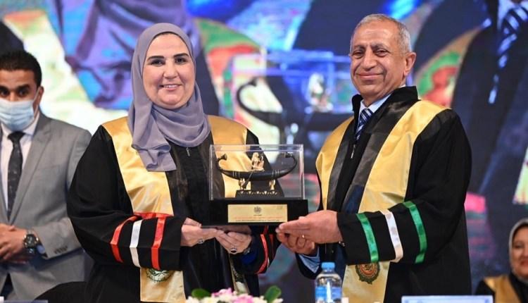 وزيرة التضامن تشهد احتفالية تخرج دفعة جديدة من طلاب الأكاديمية العربية للعلوم والتكنولوجيا