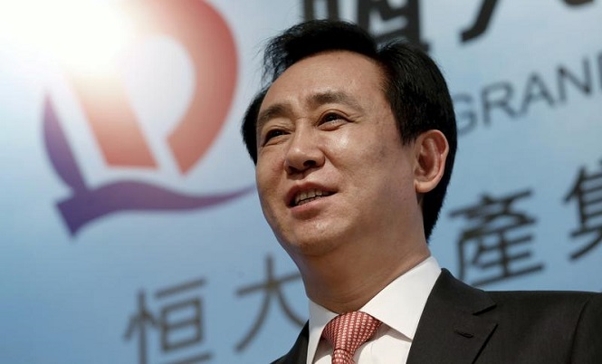 هوي كا يوان رئيس مجلس إدارة تشاينا إيفرجراند