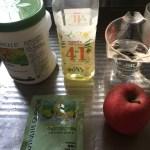 アムウェイフードプロセッサーレシピ:リンゴプロテイン超簡単ジュース