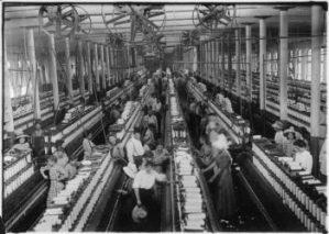 Interior of Magnolia Cotton Mills
