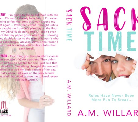 Sack Time by A.M. Willard – Cover Reveal