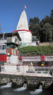 Shiva Temple pool, Bhagsu