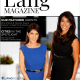 Amy and Noreen Lang Magazine cover