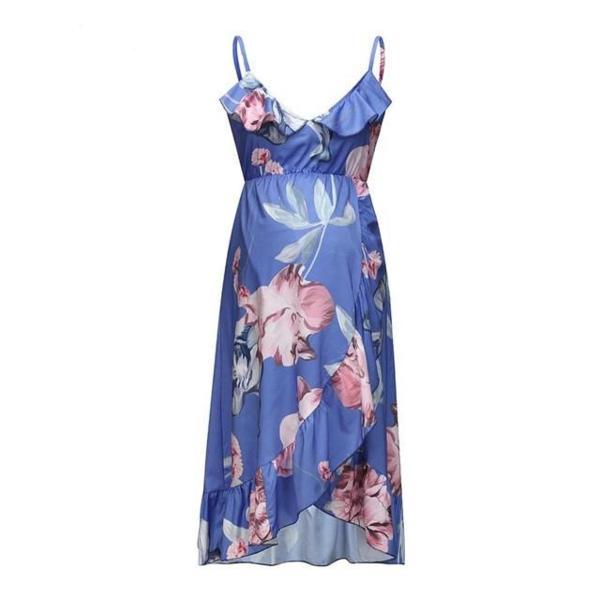 Purple pregnancy dress