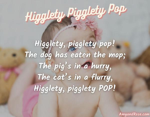 Higglety Pigglety Pop Lullaby Lyrics
