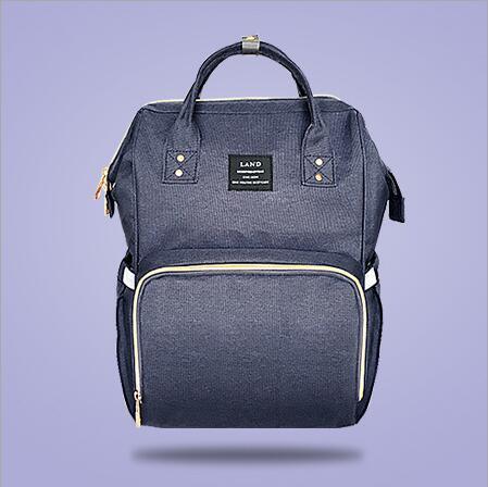 Original Land Diaper Backpack Bag - Purple - AmyandRose