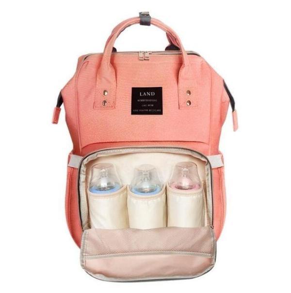Land Diaper Backpack Bag - Peach - AmyandRose