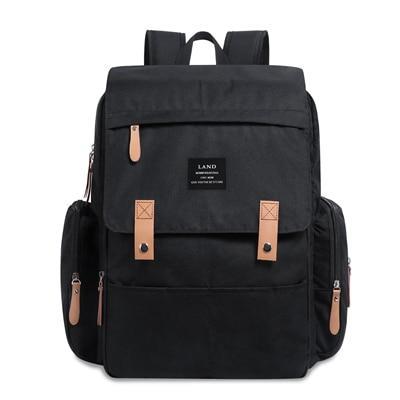 Original Land Diaper Backpack Bag - Black Rixi - AmyandRose