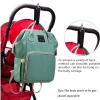 Lequeen Diaper Bag Backpack on Stroller