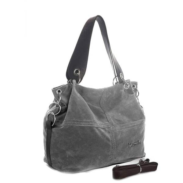 Daunavia Handbag Gray