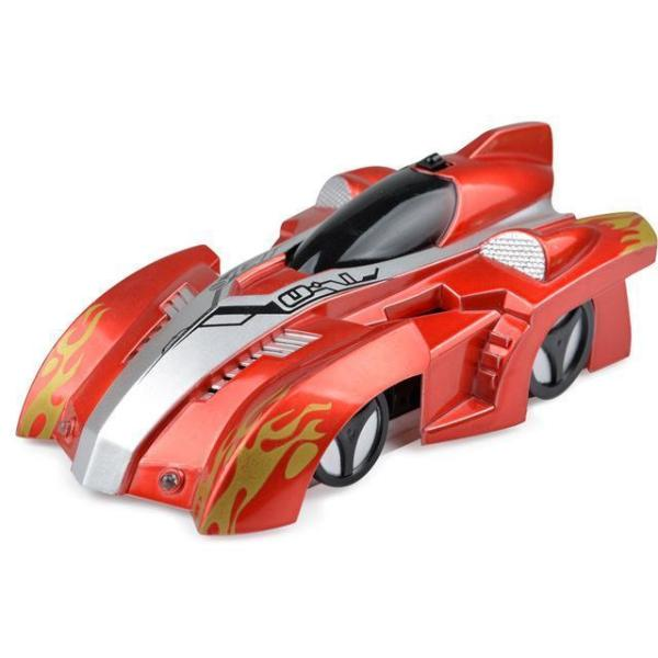 AmyandRose Zero Gravity Wall Climbing RC Car with USB Charging Red