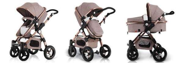 Baby Stroller 3 in 1 Modes