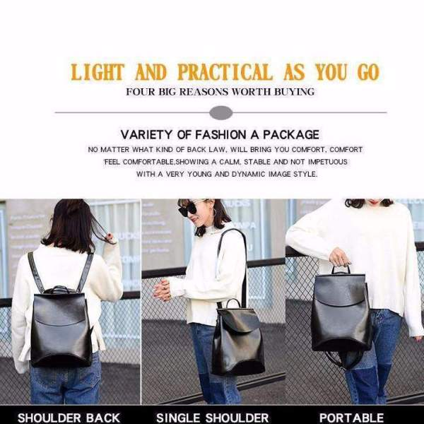 Grace Multifunctional Backpack Modes