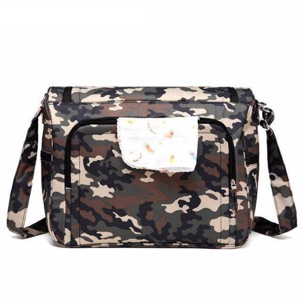 Messenger Diaper Bag Camouflage