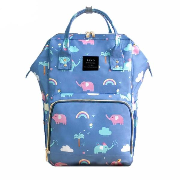 Elephant Diaper Backpack Bag