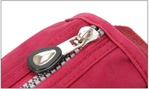 Lita Multi Compartment Handbag Purse Zipper