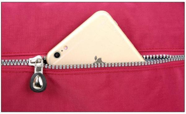 Lita Multi Compartment Handbag Purse Mobile Pocket