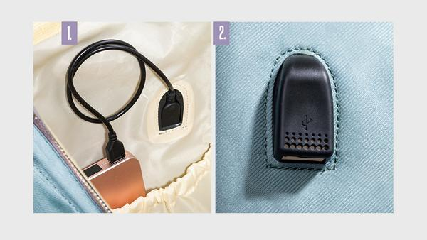 Sunveno Diaper Backpack Charging USB Port