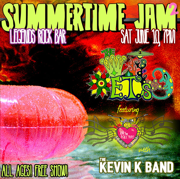 Summertime Jam Festival 2 w/ The ETs and Kevin Kuonen Band