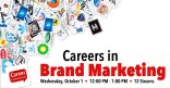Careers in Brand Marketing Marquee Image