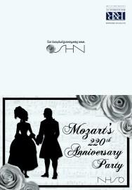 Mozart Gala Invitation - Outside