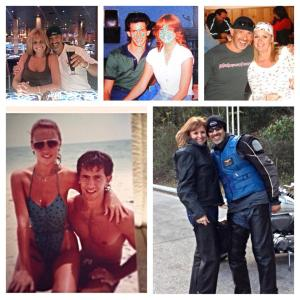Me and my love throughout the years