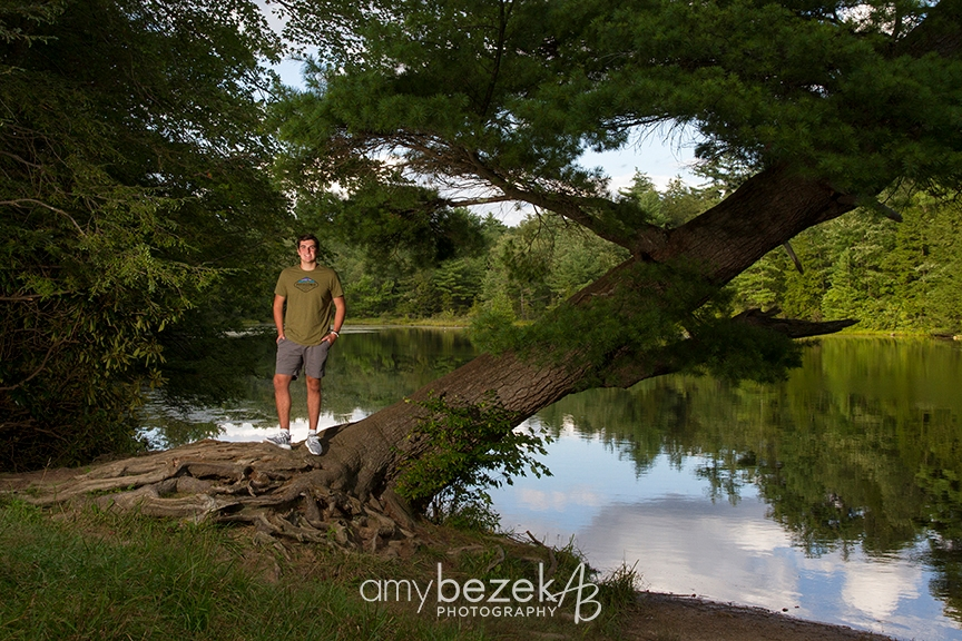 High School Senior Portraits, Boulder Field, Hickory Run State Park, Lake Harmony, PA