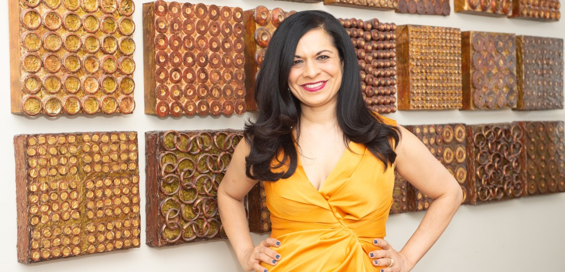 52 Phenomenal Women- photo essays by Amy Boyle Photography benefitting Dress for Success Worldwide – Central.2019 - pictured Bela Ghandi
