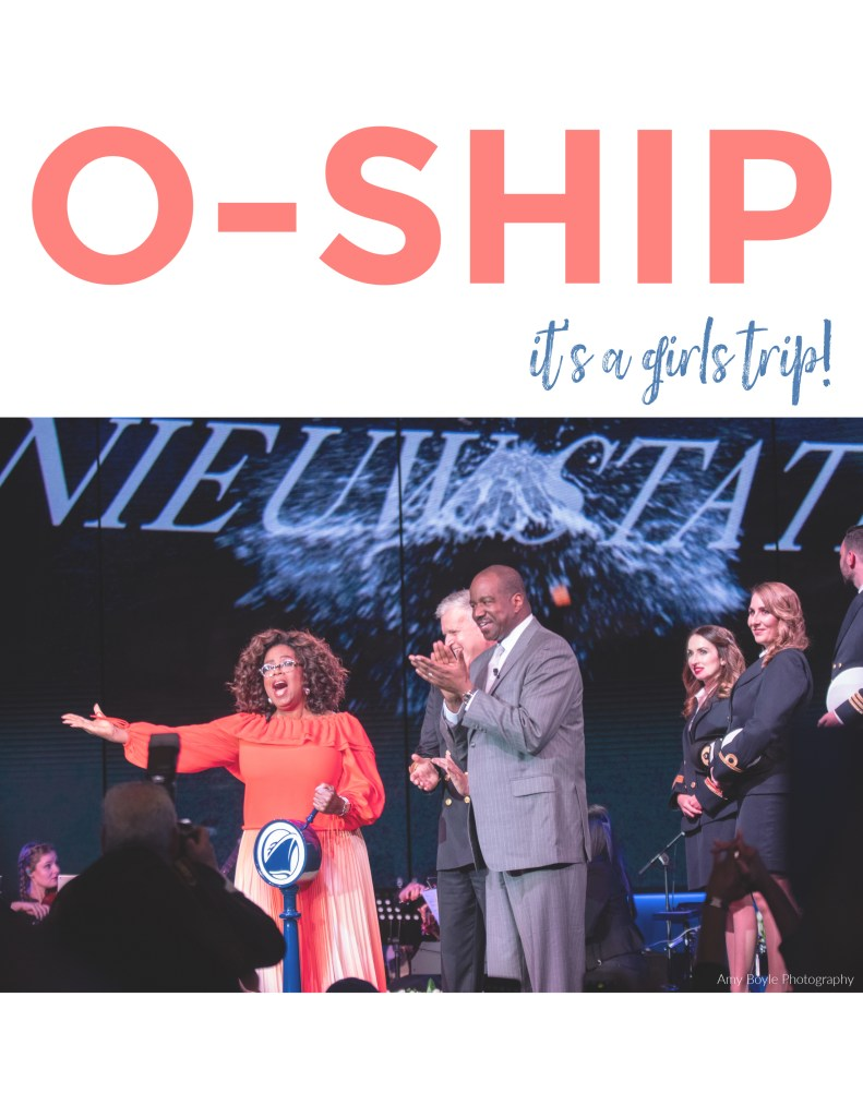 Oprah Winfrey he godmother of Holland America Line's Nieuw Statendam - ©Amy Boyle Photography