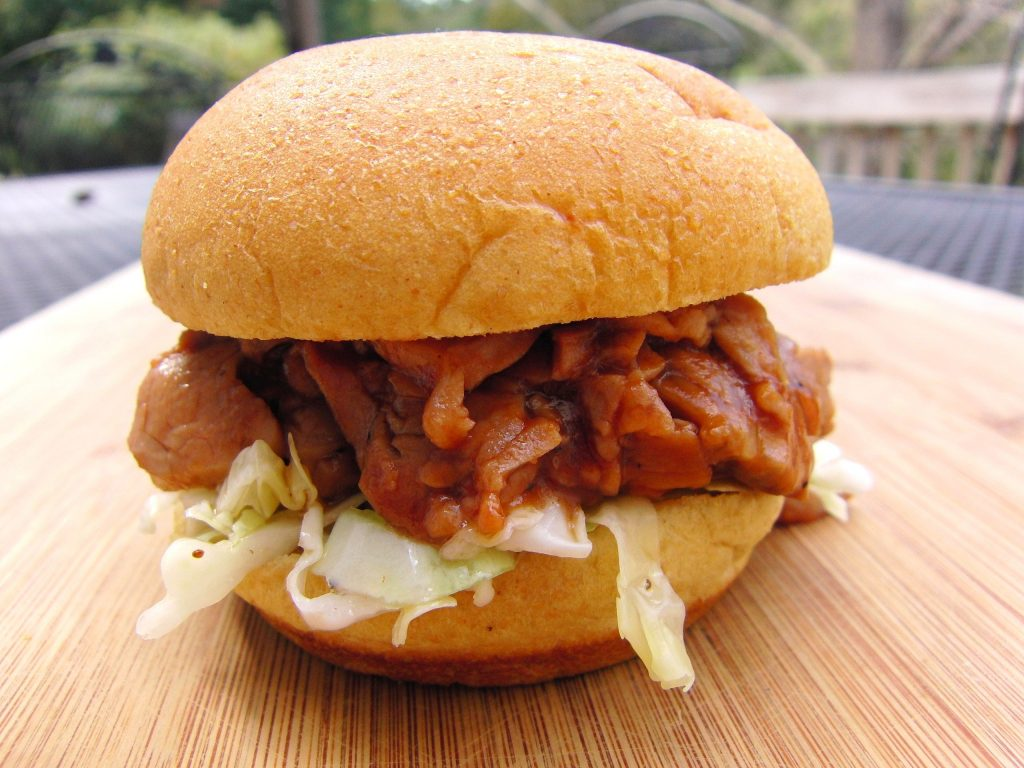 Cole Slaw Pork Sandwiches