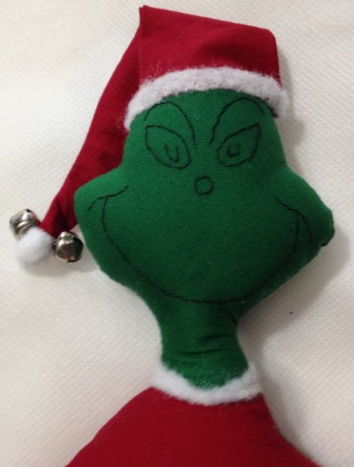 The Grinch Face 1