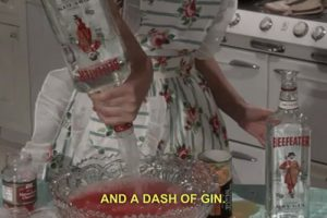 dash of gin