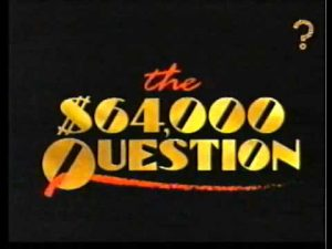 If finding the answer comes with cash money, I might be slightly more motivated.
