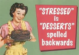 This might not be the best way to fight stress...