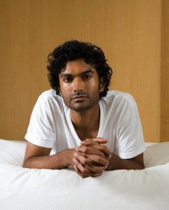Picture of Sendhil Ramamurthy, inspiration for Raj